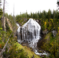 Union Falls - Yellowstone